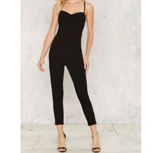 Solemio Los Angeles Raquel Cross Back Jumpsuit